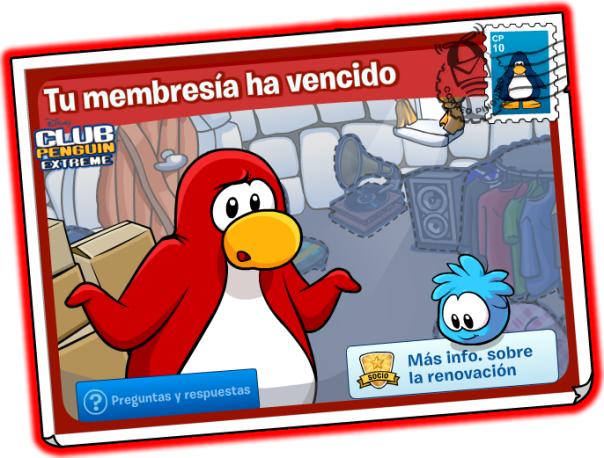 Membresia Vencida